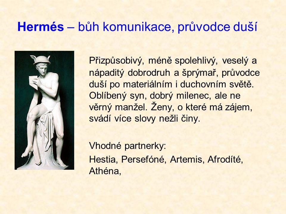 Hermés – bůh komunikace, průvodce duší