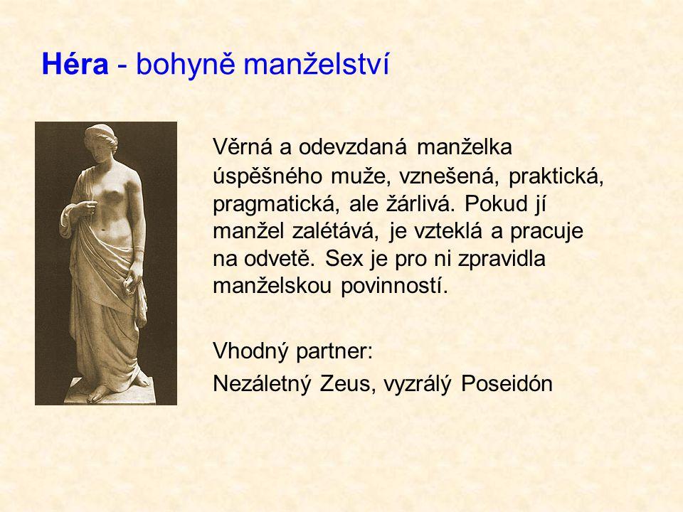 Héra - bohyně manželství