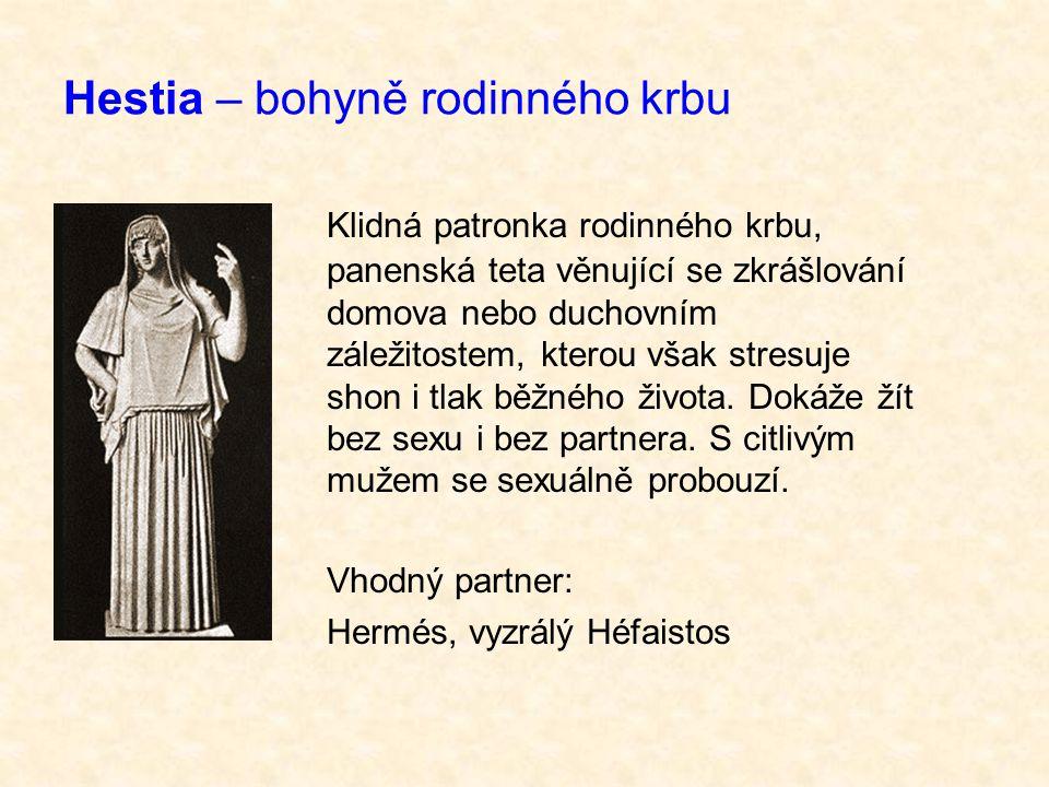 Hestia – bohyně rodinného krbu