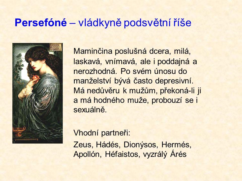Persefóné – vládkyně podsvětní říše