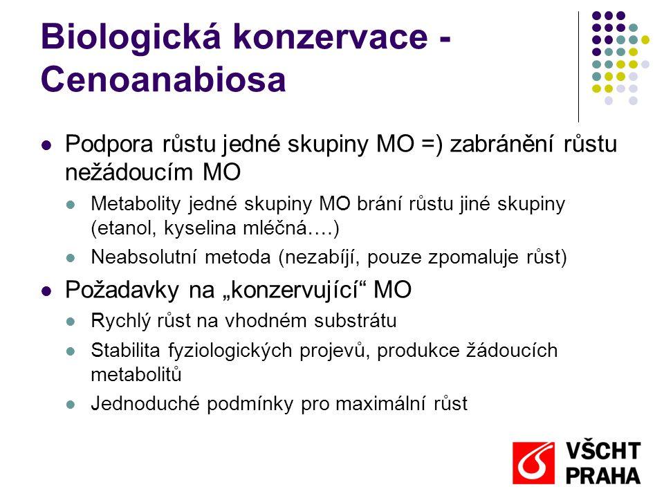 Biologická konzervace - Cenoanabiosa
