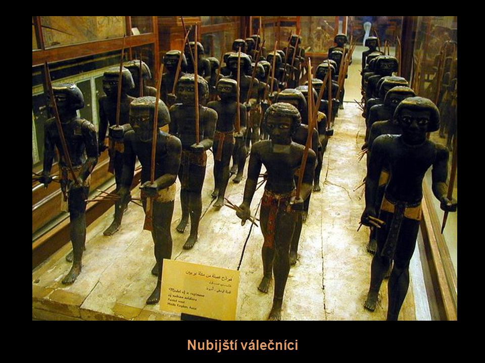 Nubijští válečníci
