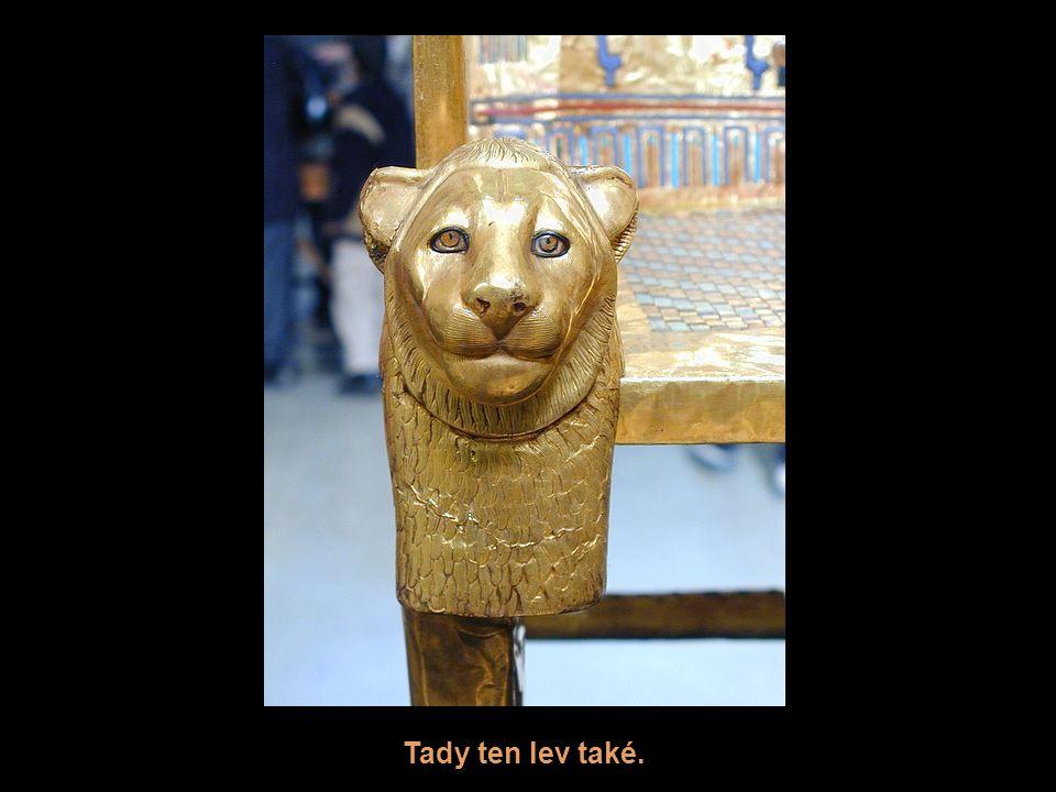 Tady ten lev také.