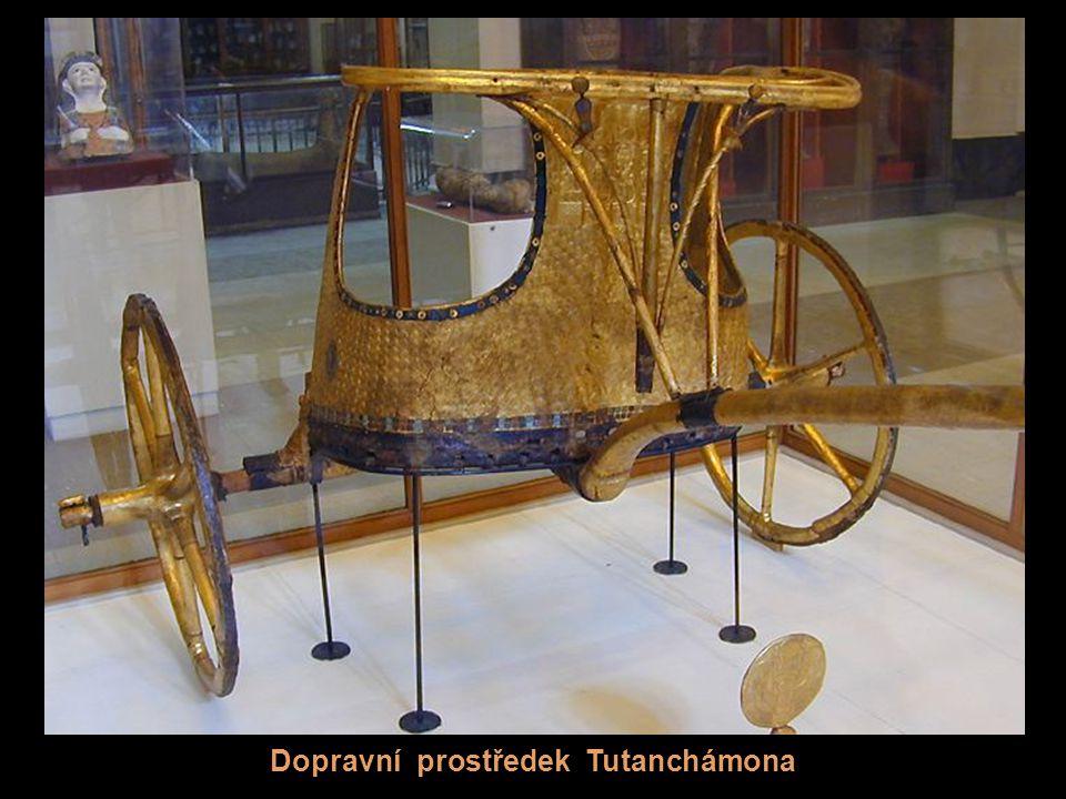 Dopravní prostředek Tutanchámona