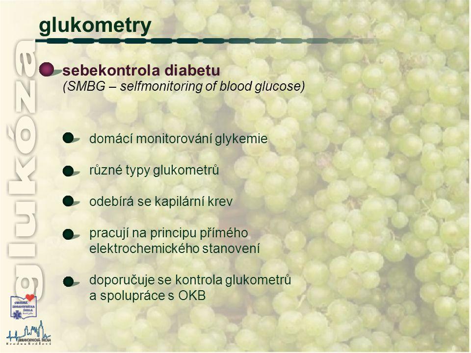 glukometry sebekontrola diabetu