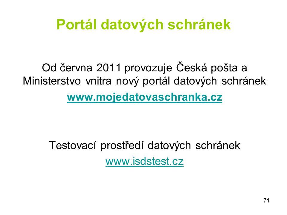 Portál datových schránek