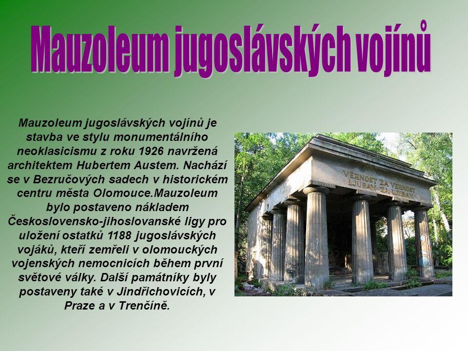 Mauzoleum jugoslávských vojínů