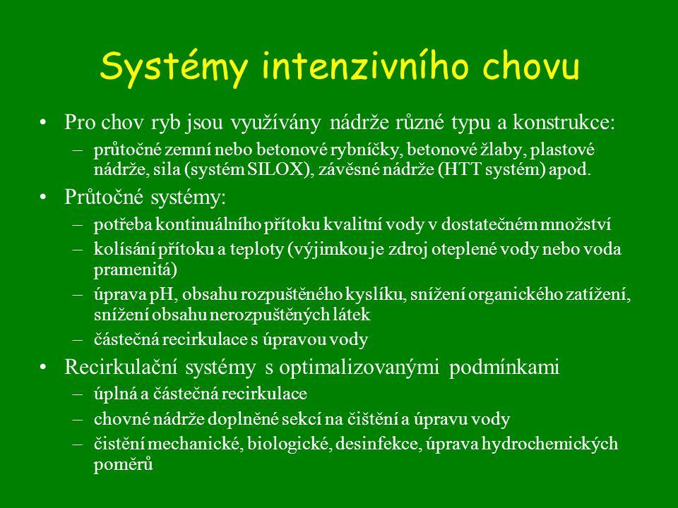 Systémy intenzivního chovu