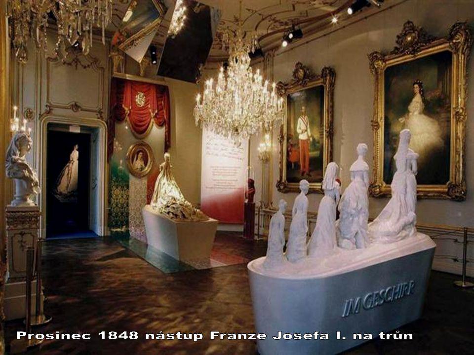 Prosinec 1848 nástup Franze Josefa I. na trůn