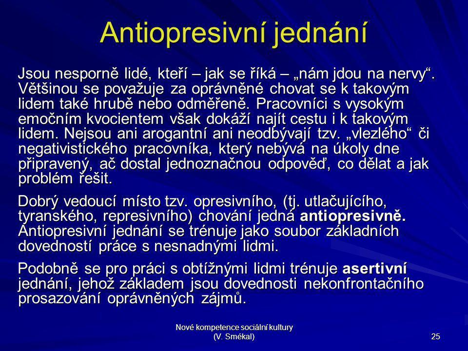 Antiopresivní jednání