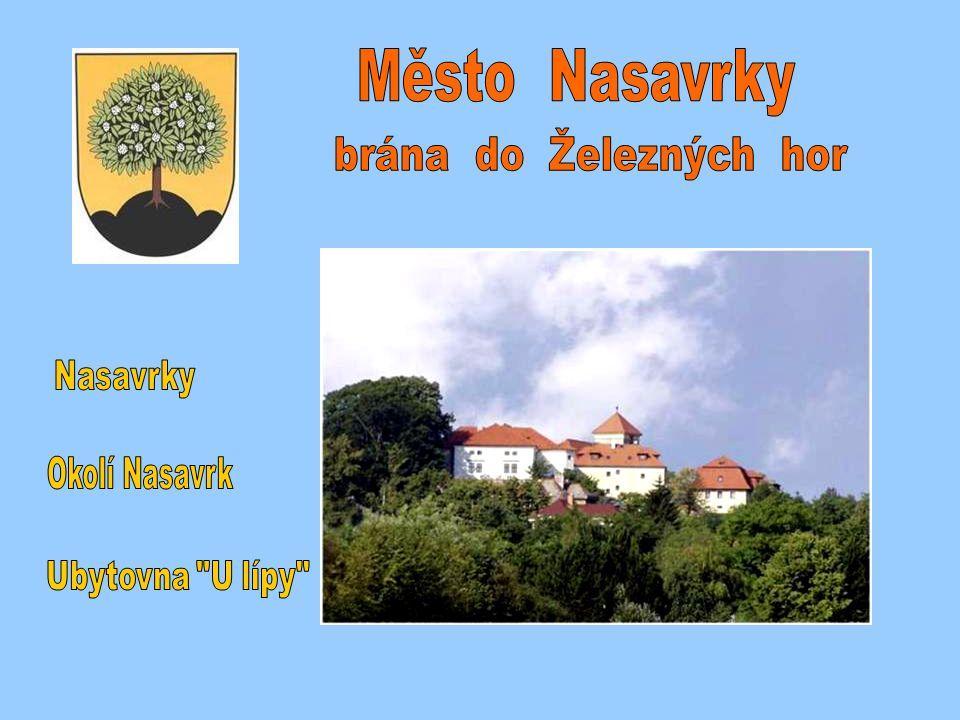 Město Nasavrky brána do Železných hor Sem umístěte Nasavrky