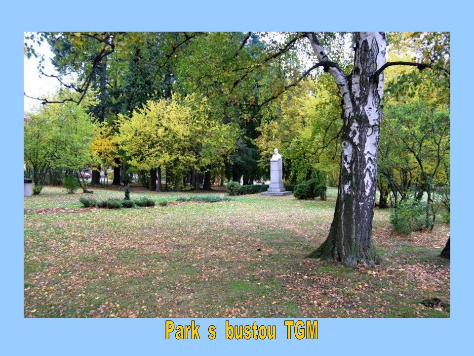 Park s bustou TGM