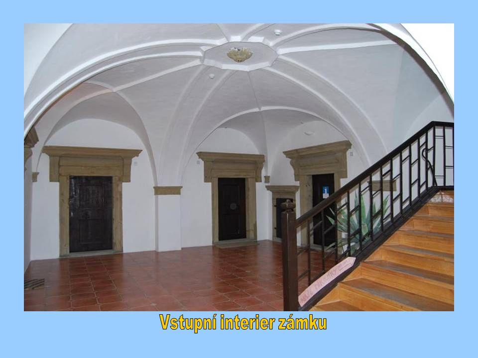 Vstupní interier zámku