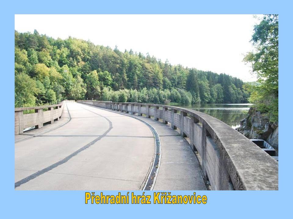 Přehradní hráz Křižanovice