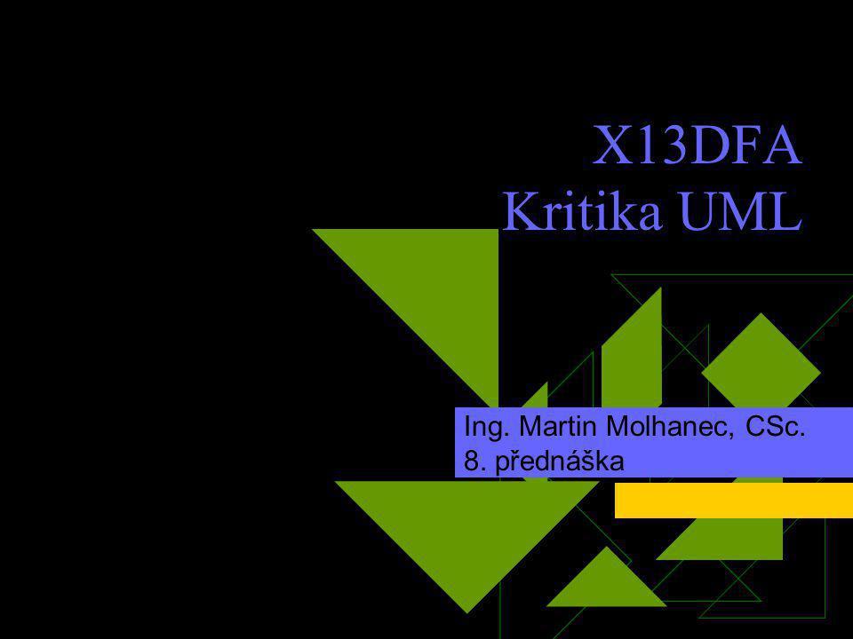 Ing. Martin Molhanec, CSc. 8. přednáška