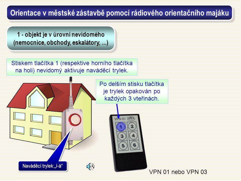 Orientace v městské zástavbě pomocí rádiového orientačního majáku