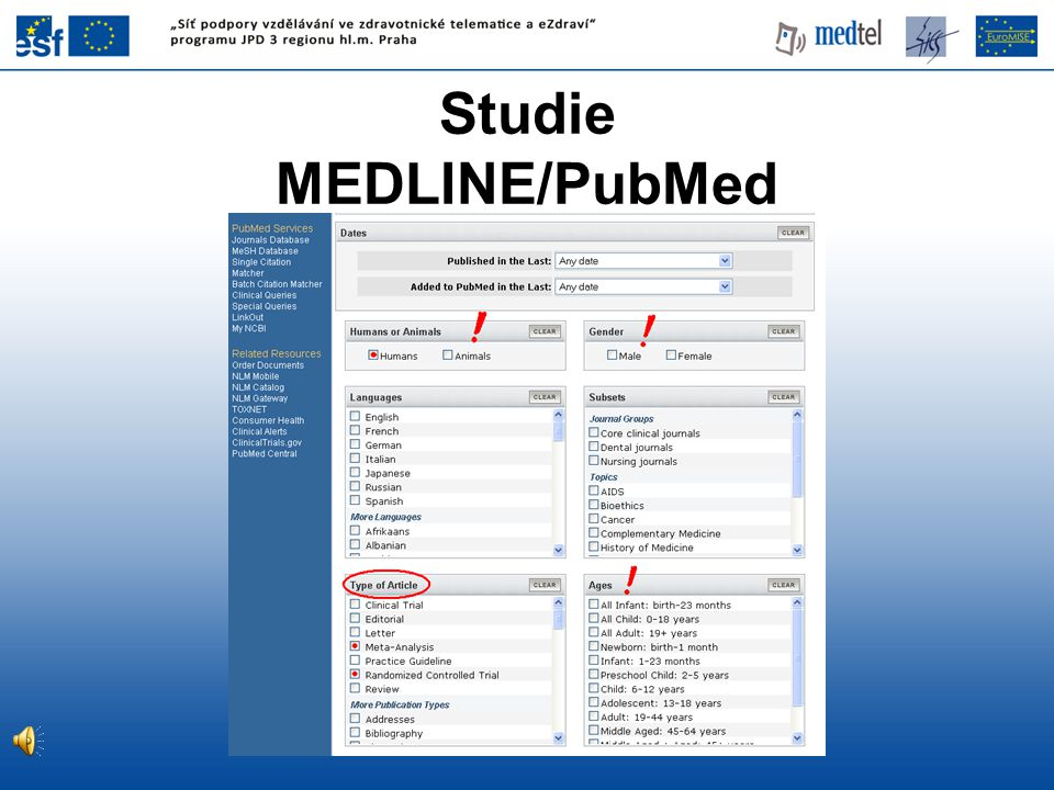 Studie MEDLINE/PubMed