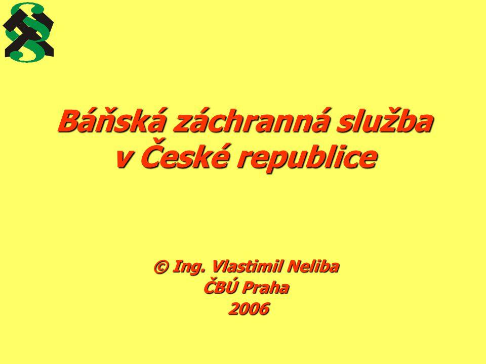 Báňská záchranná služba v České republice