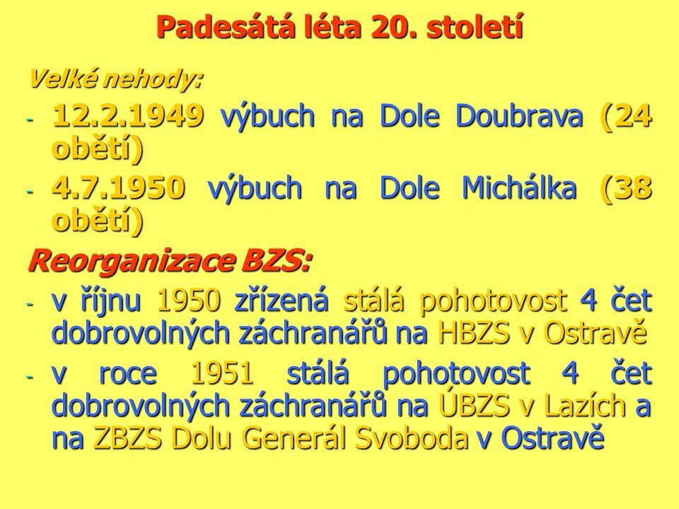 12.2.1949 výbuch na Dole Doubrava (24 obětí)