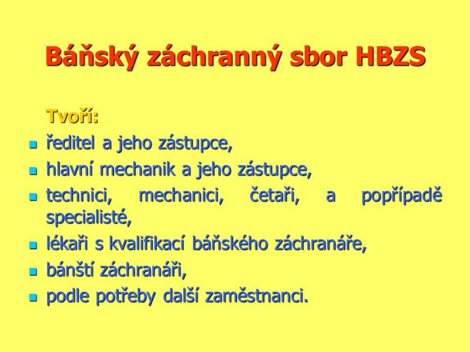 Báňský záchranný sbor HBZS