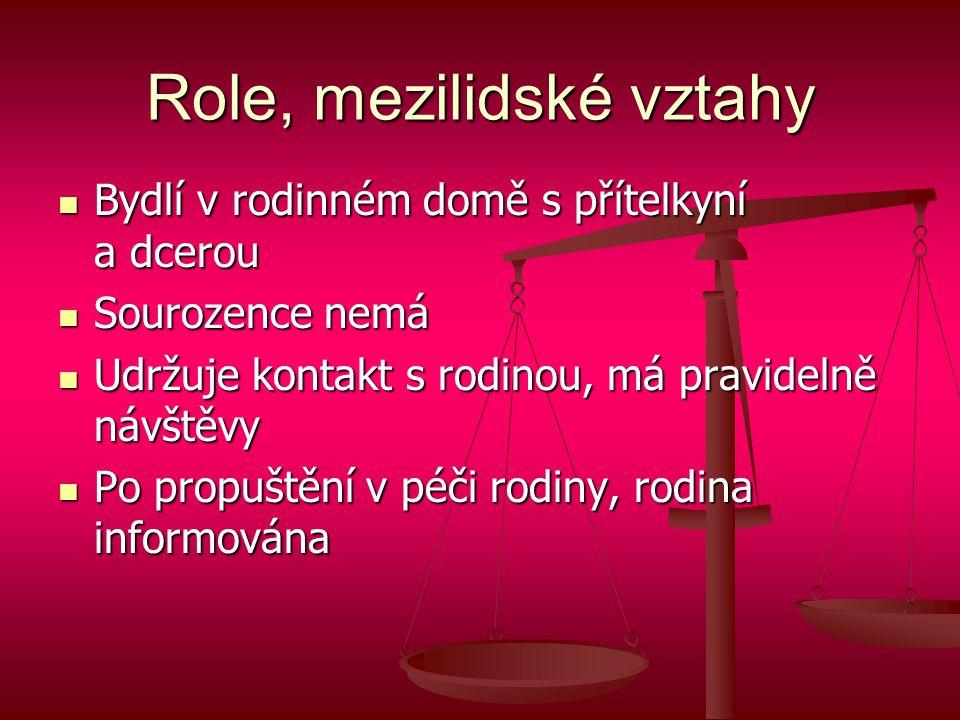 Role, mezilidské vztahy