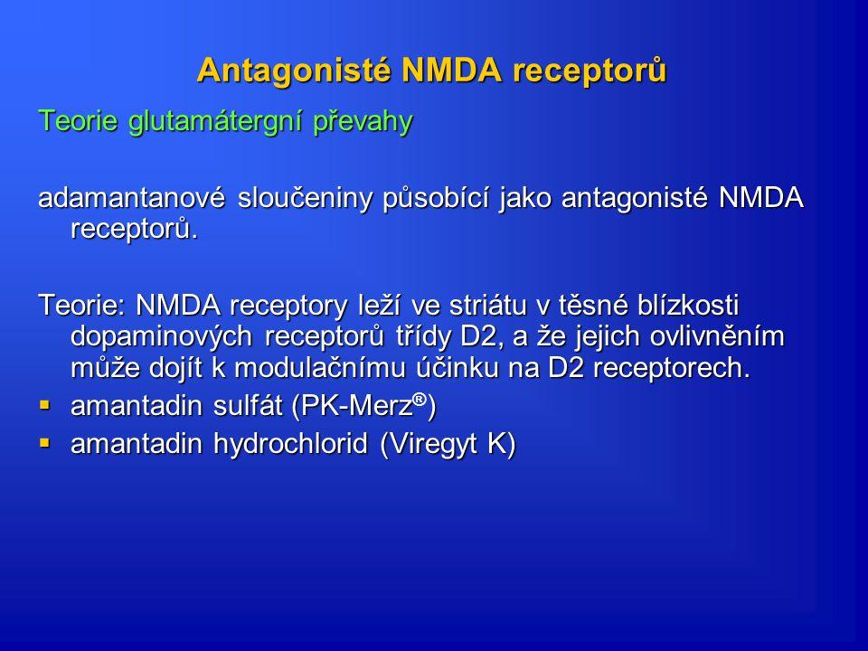 Antagonisté NMDA receptorů