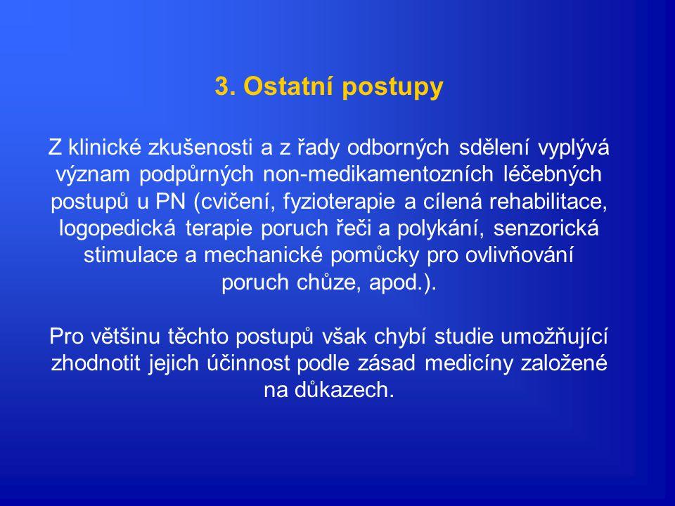 3. Ostatní postupy