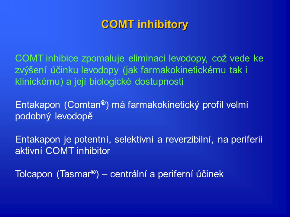 COMT inhibitory