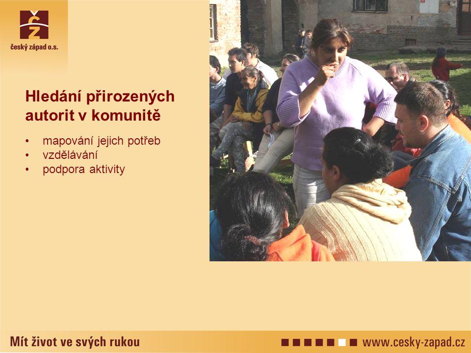 Hledání přirozených autorit v komunitě mapování jejich potřeb