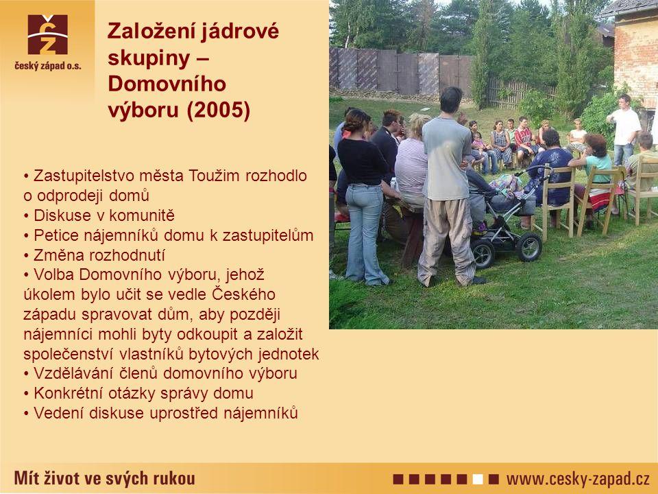 Založení jádrové skupiny – Domovního výboru (2005)