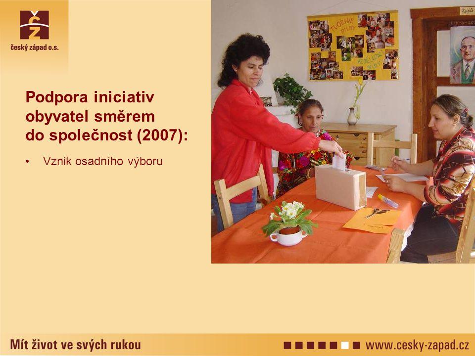 Podpora iniciativ obyvatel směrem do společnost (2007):