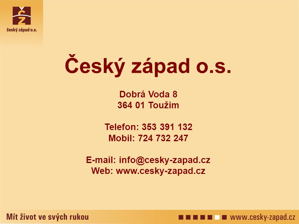 E-mail: info@cesky-zapad.cz