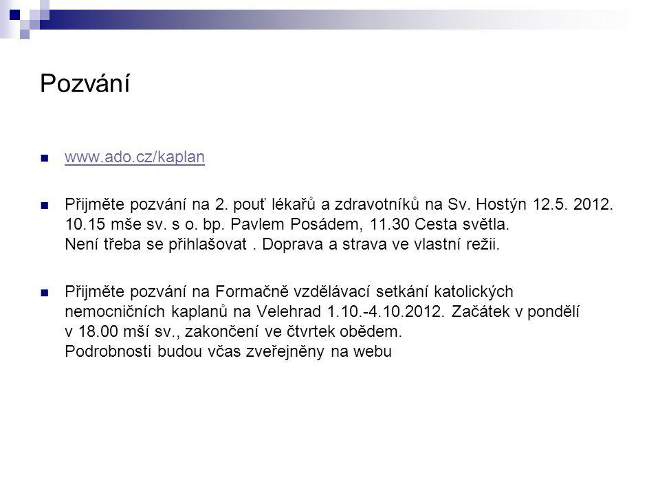 Pozvání www.ado.cz/kaplan