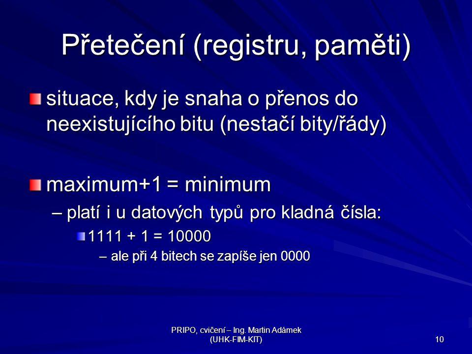 Přetečení (registru, paměti)