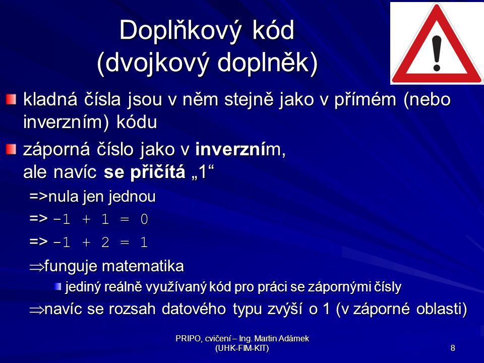 Doplňkový kód (dvojkový doplněk)