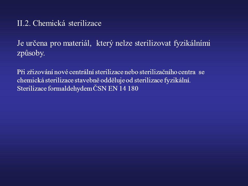 II.2. Chemická sterilizace