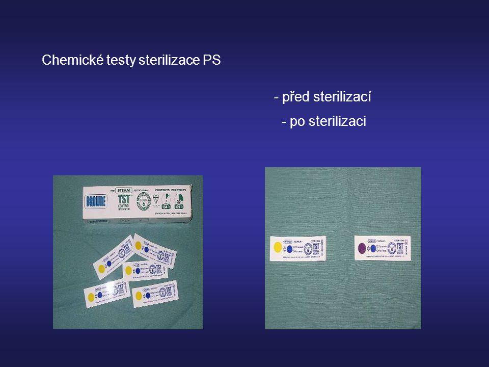 Chemické testy sterilizace PS