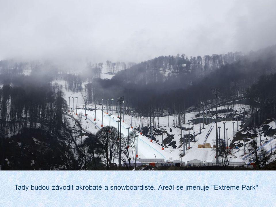 Tady budou závodit akrobaté a snowboardisté