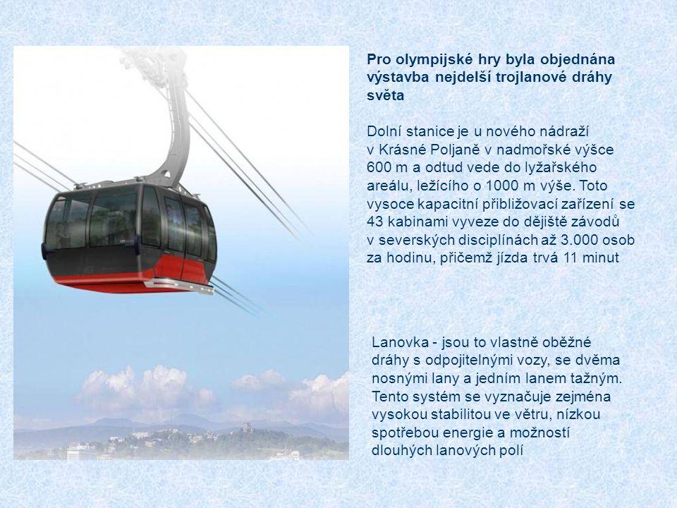 Pro olympijské hry byla objednána výstavba nejdelší trojlanové dráhy světa