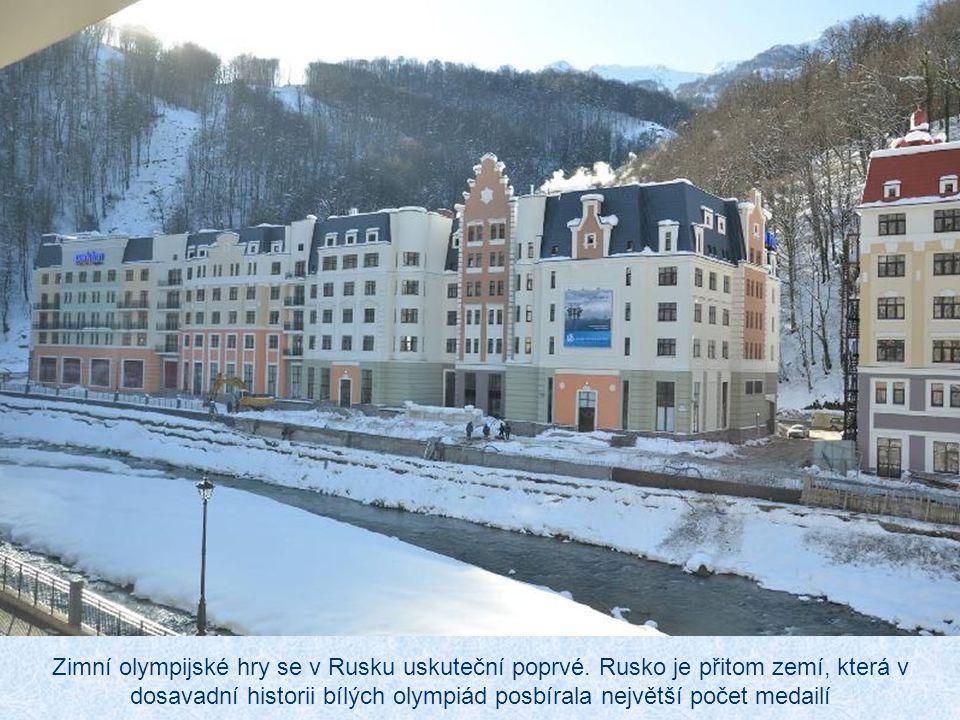 Zimní olympijské hry se v Rusku uskuteční poprvé