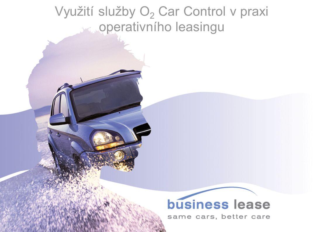 Využití služby O2 Car Control v praxi operativního leasingu