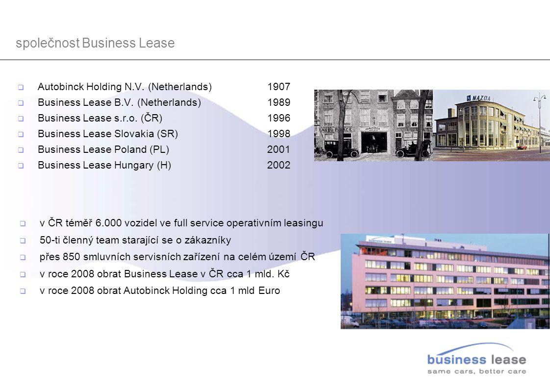 společnost Business Lease