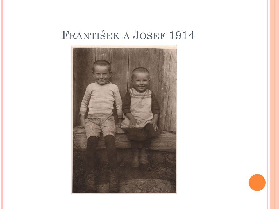 František a Josef 1914