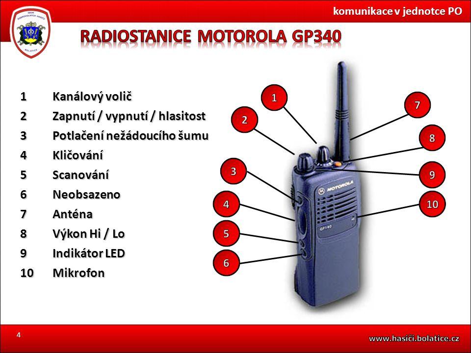 RADIOSTANICE MOTOROLA GP340