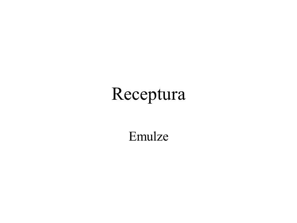 Receptura Emulze