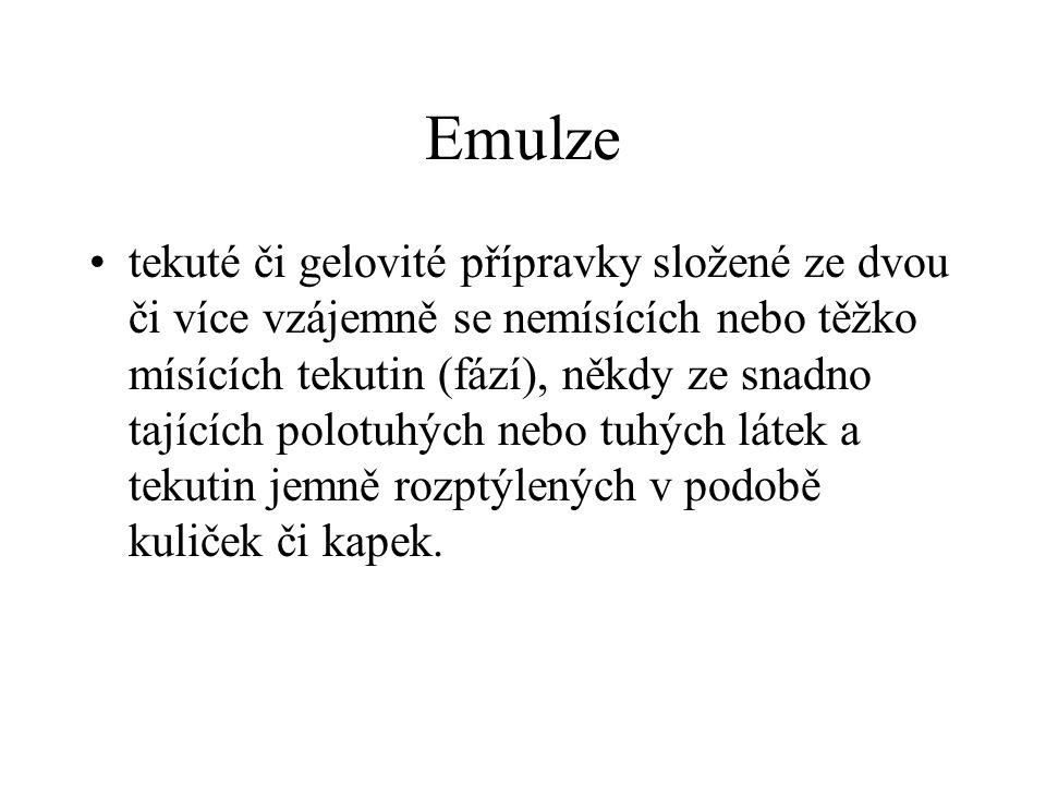 Emulze