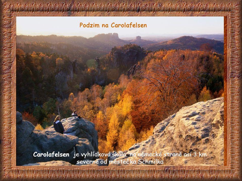 Podzim na Carolafelsen