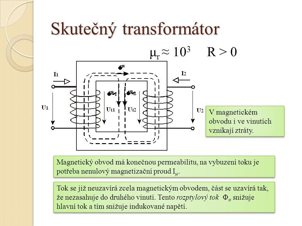 Skutečný transformátor