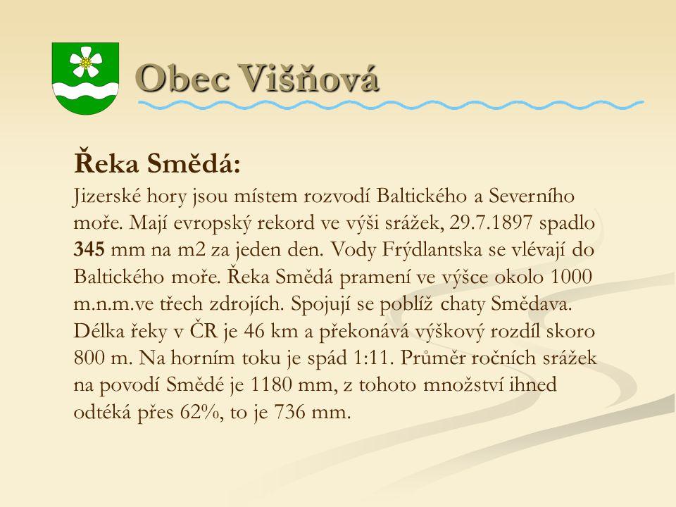 Obec Višňová Řeka Smědá: