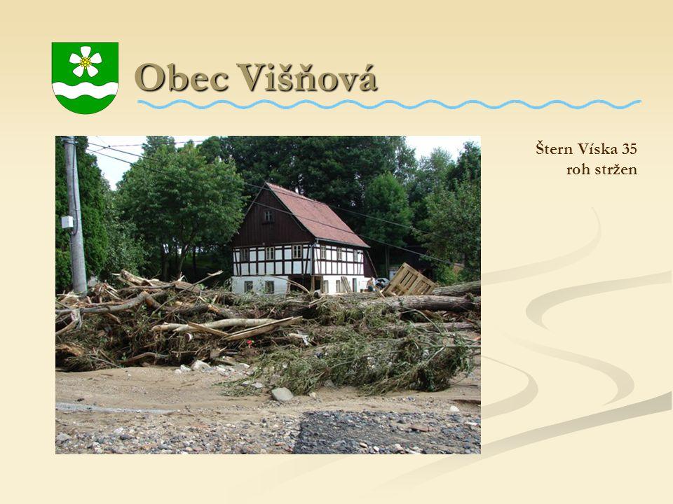 Obec Višňová Štern Víska 35 roh stržen